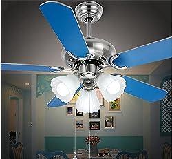 Pige Simple & Stylish 42-inch Fan Leaf Fan Light Mediterranean Chandelier