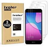 iVoler [Pack de 3] Verre Trempé pour Huawei Y6 Pro 2017 / Huawei P9 Lite Mini, Film Protection en Verre trempé écran Protecteur vitre
