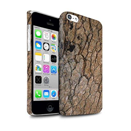 STUFF4 Matte Snap-On Hülle / Case für Apple iPhone 6S+/Plus / texturierte/braun Muster / Baumrinde Kollektion Rissig/Tief