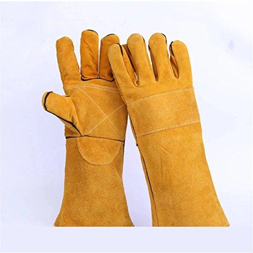 CN Schutzhandschuhe Industrielle Hitzebeständige Schweißhandschuhe Lederhandschuhe Arbeitsschutzhandschuhe (Xl-antistatik-handschuhe)