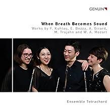 When Breath Becomes Sound - Werke für Querflötenquartett