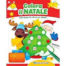 Disegni Da Colorare Di Natale Sul Computer.Disegni Di Natale Da Colorare Amazon It