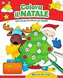 Colora il Natale. Tanti disegni da colorare per Natale! Con scatola con 6 pennarelli