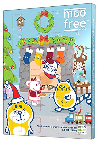Moo Free Advent Calendar, 100 g