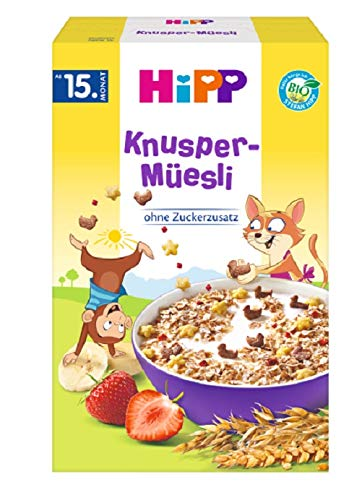 HiPP Knusper Müesli, 6er Pack (6 x