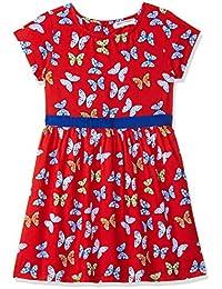 Amazon Brand - Jam & Honey Girls Skater Knee-Long Dress