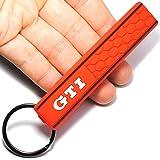 GTI Logo Emblem Badge Car Keychain Key Ring for VW Golf MK2 MK3 MK4 MK5 MK6 MK7 Polo Car Styling Auto Accessories