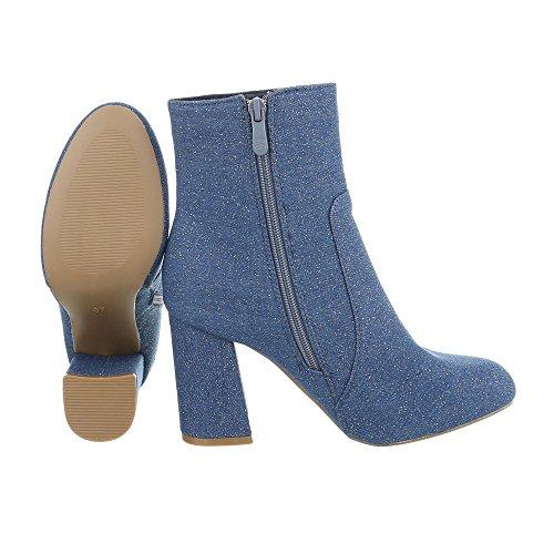 Kitty Femmes Italdesign Talon Avec Bottes Chaussures Cheville W0WqOI4z
