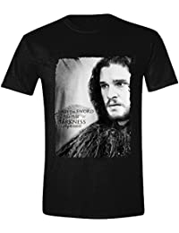 Game of Thrones Jon Snow - I Am The Sword In The Darkness T-shirt noir