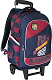 FC BARCELONA GRAND SAC A ROULETTE TROLLEY SAC A DOS CARTABLE BARCA FC BARCELONE