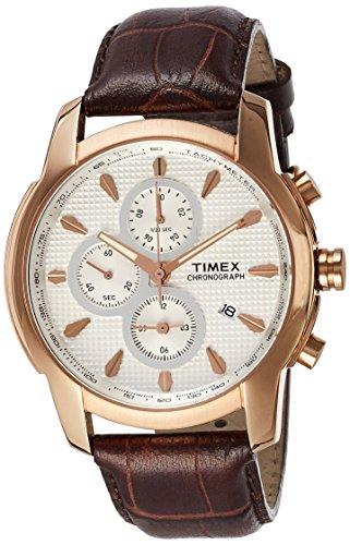 Timex Analog Silver Dial Men's Watch-TW000Y505