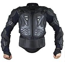 Webetop giacche moto Parts Full Body Abbigliamento di protezione della colonna vertebrale toracica Armatura Off Road Protector Motocross corsa Protettori per torace, XL