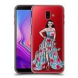 Head Case Designs Mädchen-Schönheit Der Insel Frauenverschiedenheiten Ruckseite Hülle für Samsung Galaxy J6 Plus (2018)