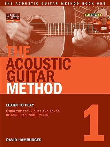 David Hamburger: The Acoustic Guitar Method - Book 1. Partitions, Downloads pour Guitare(Boîtes