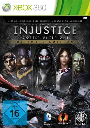 Injustice - Ultimate Edition - [Xbox 360] (Xbox 360-software)