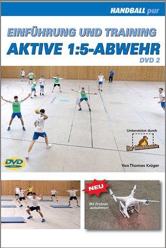 Preisvergleich Produktbild Einführung und Training aktive 1:5-Abwehr - DVD 2