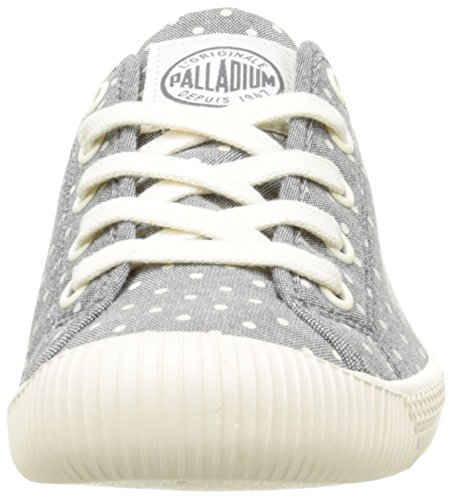 Palladium Flex Pd W, Baskets Basses Femme Gris (B95 Gray/Antique White/Polka)