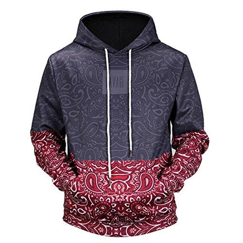 Preisvergleich Produktbild Herren Pullover Btruely Winter Männer Kapuzenpullover Langarm Mit Kapuze Mantel Männer Hooded Sweatshirt Retro Outwear (M,  Schwarz)