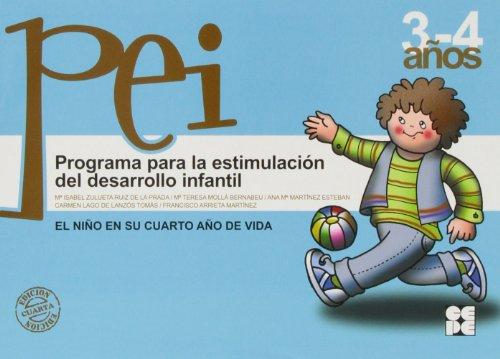 Programa para la estimulacion del desarrollo infantil (PEI). 4 (Programas Intervencion Educati) - 9788478692910 por Maria Isabel Zulueta