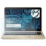 Bruni Schutzfolie für ASUS VivoBook E200HA (E200HA) Folie - 2 x glasklare Displayschutzfolie