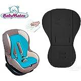 Baby Matex * * térmica activa Memory Foam Asiento Asiento para/renis * * universal para portabebés, asiento de coche, por ejemplo para maxi-cosi, Römer, para carrito O. Buggy etc. * * negro * *