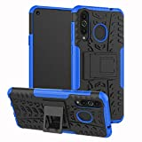 xinyunew Galaxy A8S Case, 360° Full Body PC 2 in 1 [with