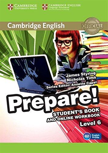 Cambridge English Prepare! Level 6 Student's Book and Online Workbook