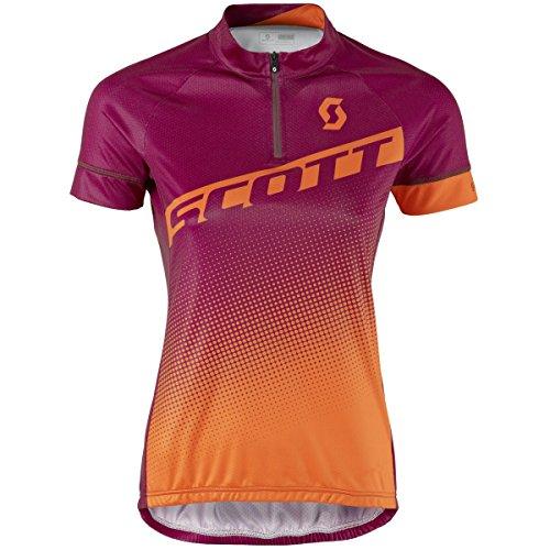 Scott Endurance 40 Damen Fahrrad Trikot kurz lila/orange 2017: Größe: L (40/42)