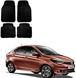 #5: Kozdiko Car Simple Rubber Mats Black Color 4Pcs for Tata Tigor