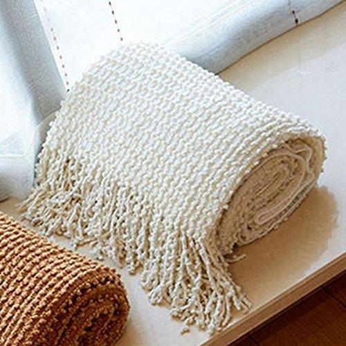 """QIYUN.Z 130 centimetri * 150 centimetri nappe pianura tiro coperta morbido divano divano copridivano decorativo copertura della sedia (51""""* 59"""")"""