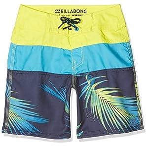 Billabong Tribong Shorts da Bagno Ragazzo, Ragazzo, Tribong, Neo Lime, 14 anni