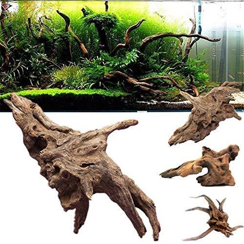 Roblue Aquarium Dekoration Natürlich Holz Fisch Tank Zubehör