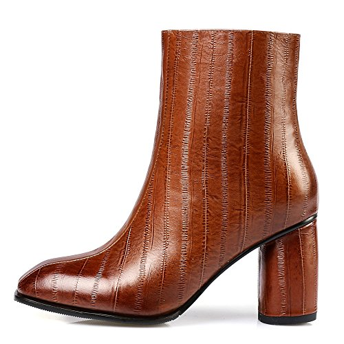 Nine Seven Stivaletto Donna Brown