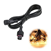Tomshine 3 Meter Waterproof Extension Cable Only for Tomshine Brand G40 Bulb String Light, Not for Other String Light