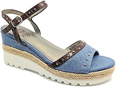 Cuña Mujer Yute Jeans 36-40