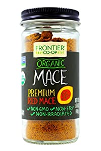 Frontier Natural Products Mace, Og, Ground, 1.76-Ounce