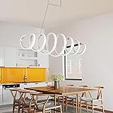 Kronleuchter Lüster Hängelampe Pendelleuchten LED Kreative Frühling kann ferngesteuert werden gedimmt modernen minimalistischen Wohnzimmer Esszimmer Dekoration