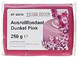 Cake Company Fondant dunkel pink, 4er Pack (4 x 250 g)