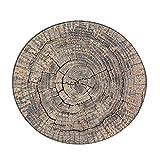 Tapis de Yoga de Plancher de Salle de séjour de Tapis de Maison de Tapis de Tapis de Maison de Tapis de Maison de Tapis de Grain en Bois Diameter 60cm par Anliyou...