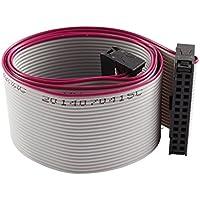50cm unidad de disco duro Feamle IDC 24 Cable de extensión Pin Cable plano