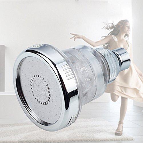 Hochdruck-Multifunktions-Einstellbare Duschkopf-Massage-Edelstahl-Dusche Dusche Massage Gold