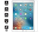 PREMYO iPad Pro Panzerglas (12,9). iPad Pro Displayschutzfolie mit Härtegrad 9H und abgerundeten Ecken 2,5D. Apple iPad Pro Schutzglas (12,9)