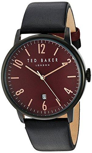 Ted Baker 10030754 - Reloj de Pulsera Hombre, Color Negro