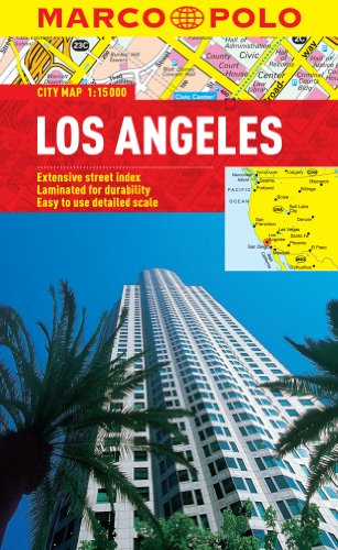 Los Angeles Marco Polo City Map (Marco Polo City Maps)