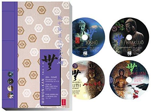 Mumon-Kan. 4 Zen-Teisho 1. Fall 1-4. Die torlose Schranke mit 4 CDs