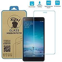 tinxi® Vidrio templado película protector de vidrio templado para Xiaomi Mi4C 4C M4C 5,0 pulgadas Protector de pantalla de la tableta Ultra Premium Screen Protector duro 0.3mm