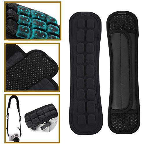 Weiches Luftkissen Ersatz Schultergurtpolster reduziert Schulterbelastung für Rucksack, Schultasche, Reisetasche (Single-S)
