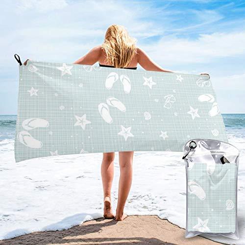pants hats Beach Theme Decor Sea Shells Starfishes Flip Flops Glasses Summer Holiday Image Bath Swimming Pool Yoga Pilates Picnic Blanket Beach Towels 31.5