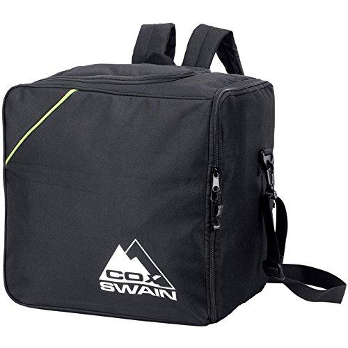 COX SWAIN Skischuh & Snowboard Boot Bag -NANGA- geeignet für Skates, Schlittschuhe, Helm, Skibrille, Colour: Black, Size: One Size