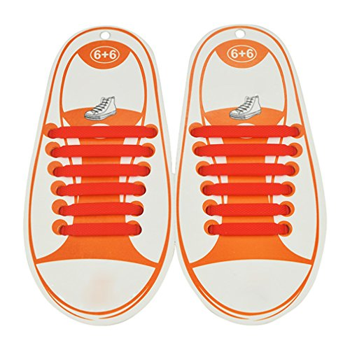 Kootk Silicone Lacci per Scarpe Elastici Bambini Shoelaces f6f24cb637d